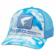 Simms Tarpon Icon Trucker Cloud Camo Blue