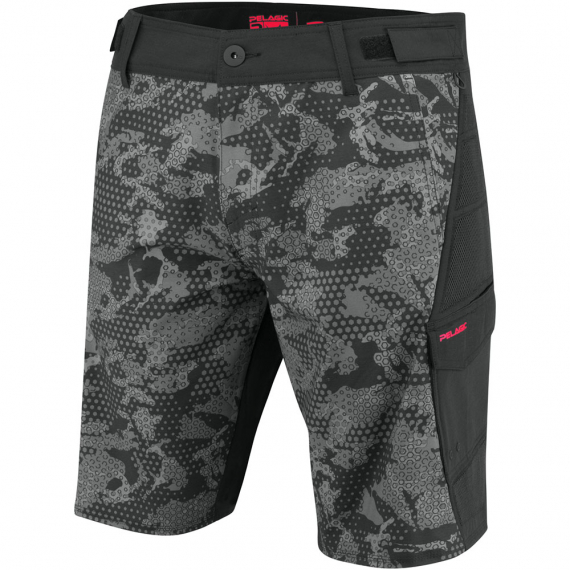 Pelagic FX - Pro Tactical Fishing Short Black i gruppen Kläder / Pelagic Gear hos Sportfiskeprylar.se (1003191000BLACKr)