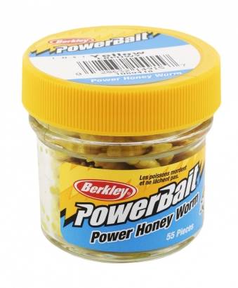 Powerbait Power Honey Worm Garlic i gruppen Fiskedrag / Gulp & Powerbait hos Sportfiskeprylar.se (1345789)