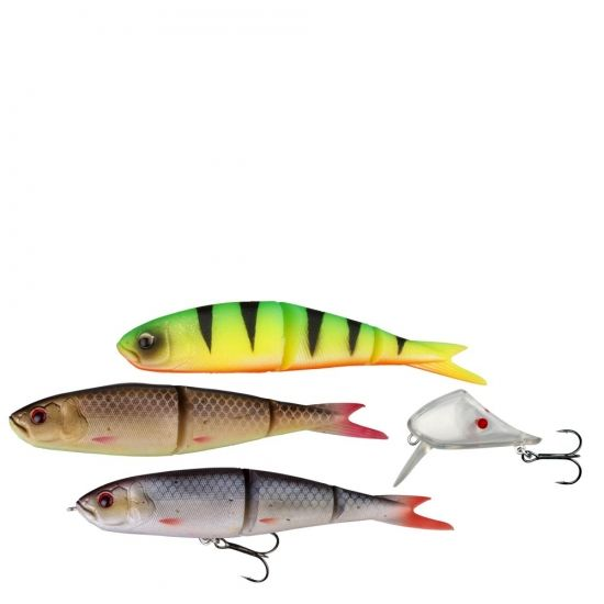 Savage Gear Soft 4Play 19cm Lip Scull kit 3-1 Roach/ Rudd/ Firetiger i gruppen Fiskeprylar / Wobblers / Savage Gear 4play hos Sportfiskeprylar.se (48701)