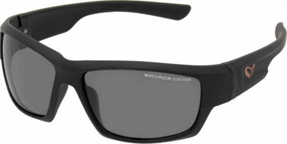 Savage Gear Shades Floating  Polarized Sunglasses - Dark Grey (Sunny) i gruppen Fiskekläder / Solglasögon / Savage Gear solglasögon hos Sportfiskeprylar.se (57574)