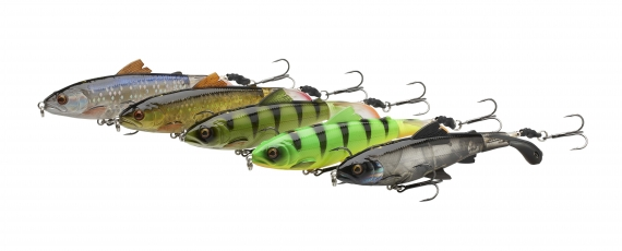 Savage Gear 3D Smash Tail Minnow 10cm 17g Floating i gruppen Fiskedrag / Ytbeten & Poppers hos Sportfiskeprylar.se (61993r)