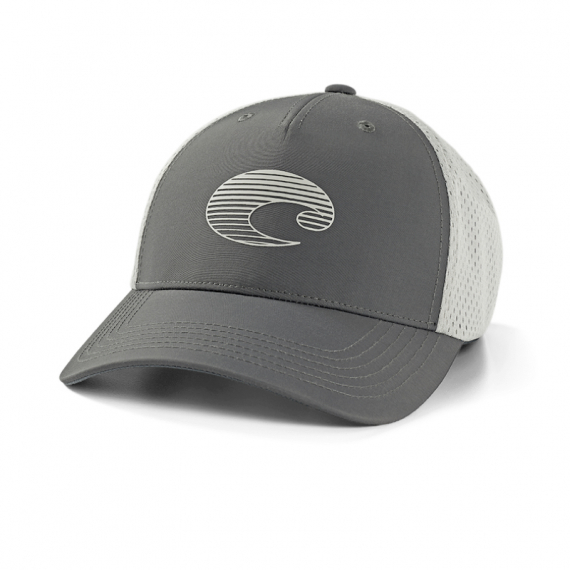 Costa XL Trucker Gradient Logo Performance Hat Gray i gruppen Kläder / Kepsar hos Sportfiskeprylar.se (CO-HA125G)