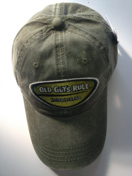 Old Guys Rule - Legend Badge Patch Cap i gruppen Fiskekläder / Old Guys Rule kläder hos Sportfiskeprylar.se (OG832CA714)