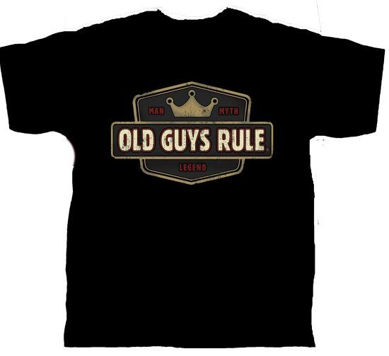 Old Guys Rule - Man Myth Legend i gruppen Fiskekl�der / Old Guys Rule kl�der hos Sportfiskeprylar.se (OG969r)