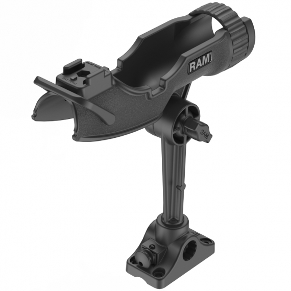 RAM Mounts RAM-Rod HD W 6\'\' Spline Post & Combo Base i gruppen Elektronik / Ram Fästen hos Sportfiskeprylar.se (RAP-433-BMP)