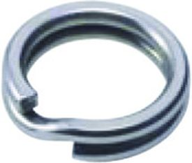 BFT Saltwater Splitring, stainless, 10mm, 105kg - 5-pack