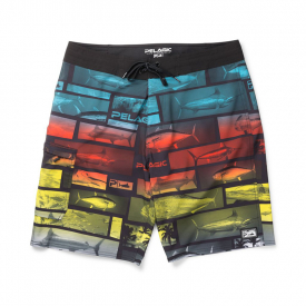 Pelagic Blue Water Fishing Shorts Multi - 34