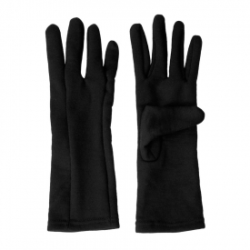Aclima HotWool Heavy Liner Gloves Unisex, Jet Black - L