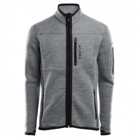 Aclima FleeceWool Jacket Man Grey Melange - L