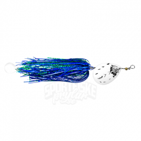 The Pig Pigspin 40g, Pearl Black Dot Blue/Green