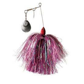 Pig S Bait Jr, Hot Red /Black dot - Purple