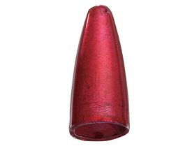 Bass Pro Bullet Weights - Red, 10,5g (3/8 oz.) 8-pack
