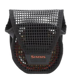 Simms Bounty Hunter Mesh Reel Pouch Black L