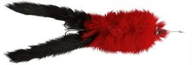 HAIRY KILLER 21g RED BLACK TAIL