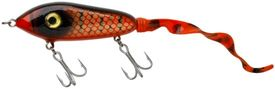 SvartZonker Big McMy 22cm Tail 78g  - Red Black
