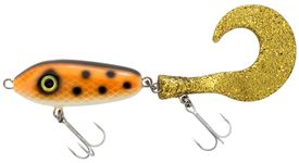 SvartZonker McMio 24cm Tail Slow Sink 54g Atomic Trout