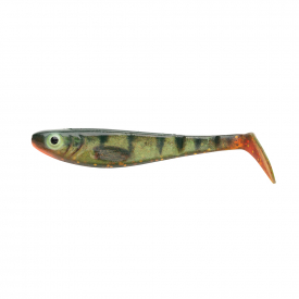 SvartZonker McPerch Shad Realistic Colors 7.5cm (8-pack) - Motoroil Perch
