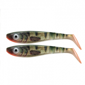 SvartZonker McPike Realistic Colors 18cm, 49g (2-pack) - Real Perch
