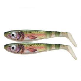 SvartZonker McPike Realistic Colors 18cm, 49g (2-pack) - Real Trout