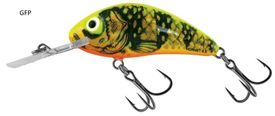 Salmo Rattlin' Hornet H5,5F 10,5g Floating, GFP