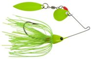 Crappie Spin Tandem, Chartreuse Chartreuse Blades