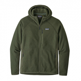 Patagonia Men's Performance Better Sweater Hoody, Alder Green, XL