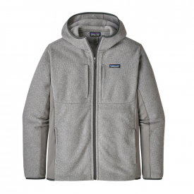 Patagonia M's LW Better Sweater Hoody Feather Grey, M