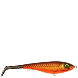 Bandit Paddle Tail, slow sink, 22cm, Brown Parrot - Motor Oil
