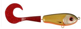 Wolf Tail, sinking, 106gr, 23cm, Dirty Roach - Red