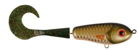 Wolf Tail, shallow, 90gr, 23cm, Golden Olive - Mossgreen