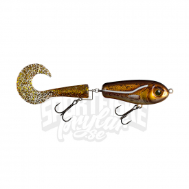 Wolf Tail Jr, shallow, 33gr, 16cm, Hot Cod - Gold
