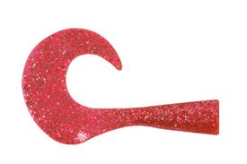 Wolf Tail Jr Spare Tails med Connector., Pink Glitter