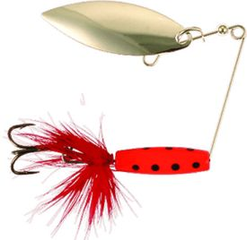 Attract Spinner Tail,12gr, Red Blackdot