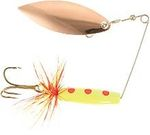Attract Spinner Tail, 12gr, Koppar/Yellow/Red Dot