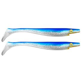 Pig Shad Jr 20cm 50g Blue Silver Glitter -2pack