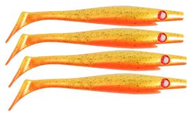 Pig Shad 15cm Nano Size (4-pack) - Goldie