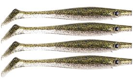 Pig Shad 15cm Nano Size (4-pack) - Green Ice