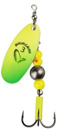 Savage Gear Caviar Spinner #3 9.5g 07-Fluo Yellow / Chartreuse