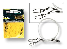 Spro Fluorocarbon Tafsar 2-pack