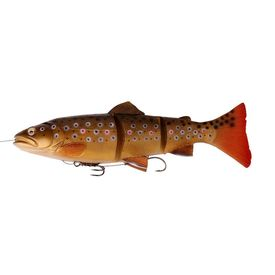 Savage Gear 3D Line Thru Trout 30cm 290g SS 03-Dark Brown Trout