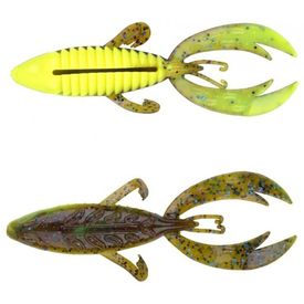 Spro Komodo Craw, Chartreuse Belly