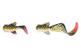 Savage Gear 3D LB Pike Hybrid 17cm Spare Tail Kit 02-Yellow Pike