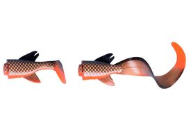 Savage Gear 3D LB Pike Hybrid 17cm Spare Tail Kit 06-Red copper Pike