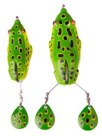 Savage Gear 3D Spin Kick Frog 10cm 12g F Green