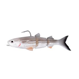 Savage Gear 3D TPE Mullet 130 Wake 29g SS 03-White Silver