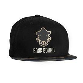 ProLogic Bank Bound Flat Bill Cap Black Camo 91559acae523b