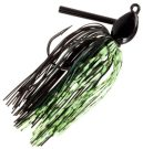 Bass Pro Enticer Pro Series Rattling Jig, 10,5g, Black Chartreuse Scale