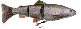 Savage Gear 4D Line Thru Trout 25cm, Rainbow Trout Slow Sink 180g