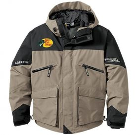 Bass Pro Pro Qualifier Gore-Tex Rain Jackets -  Dune/Black - Medium